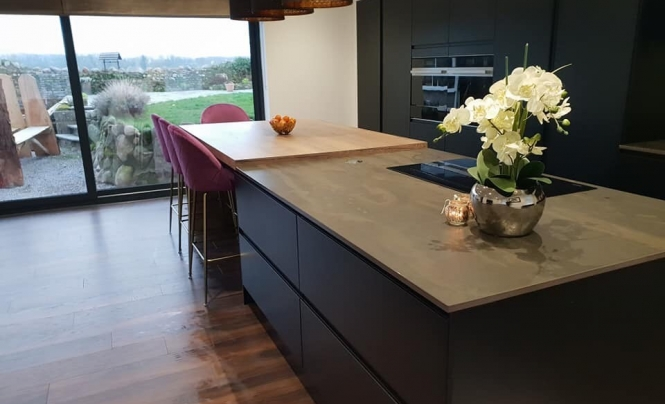 Heart of the Home Strada Matte Colour Matched Kitchen for Mr Hayton & Mrs Hunter of Cockermouth