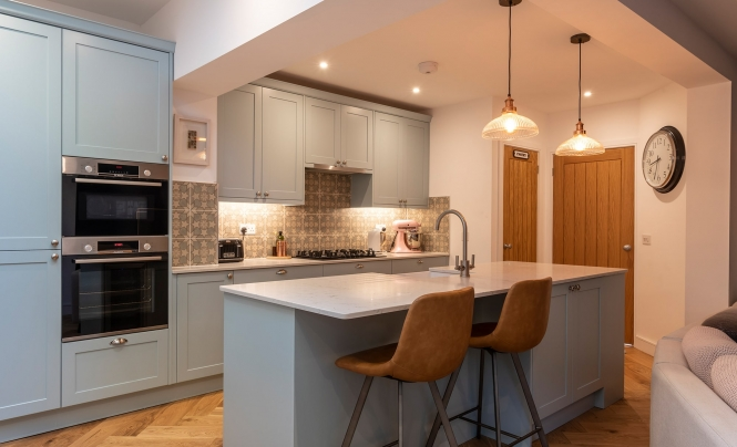 Aldana Shaker Kitchen for a home in Portishead by Portishead Kitchens Hero