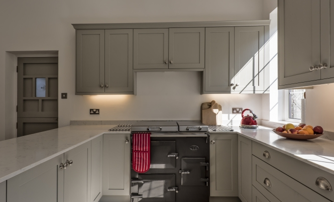 Portishead Aldana Stone Kitchen for Sally for her home in Bristol