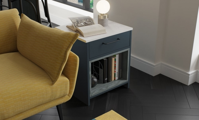 Zola Matte Side Table