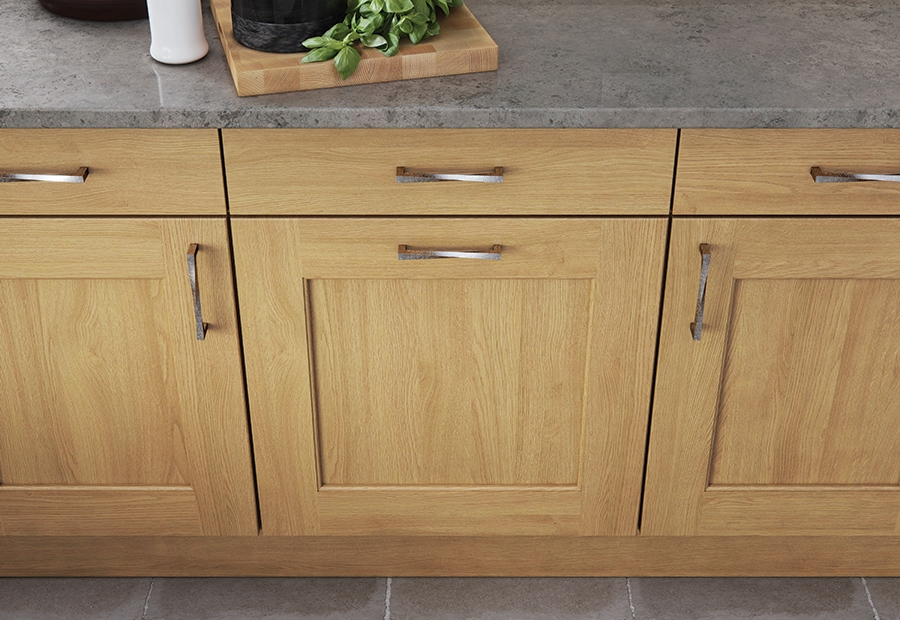Classic & Contemporary Wakefield Light Oak Kitchen Cabinets