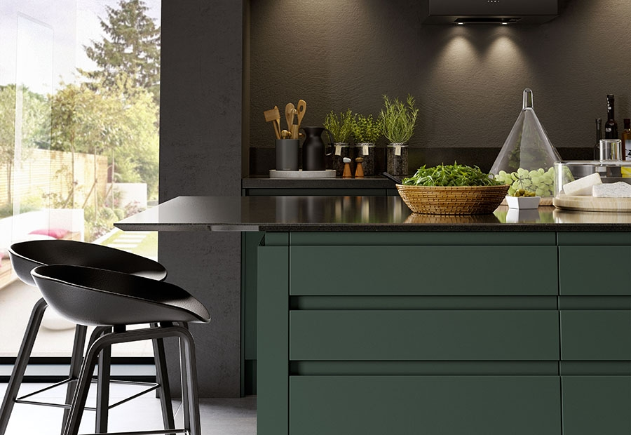 Strada Matte Deep Forest Island Unit