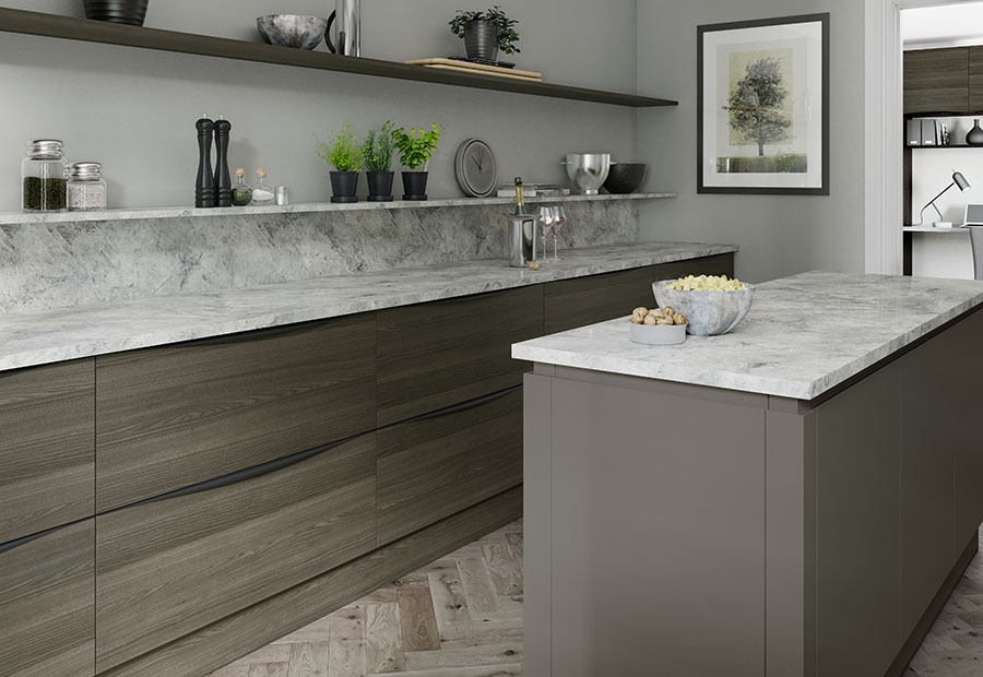 Contemporary Strada & Tavola Kitchen