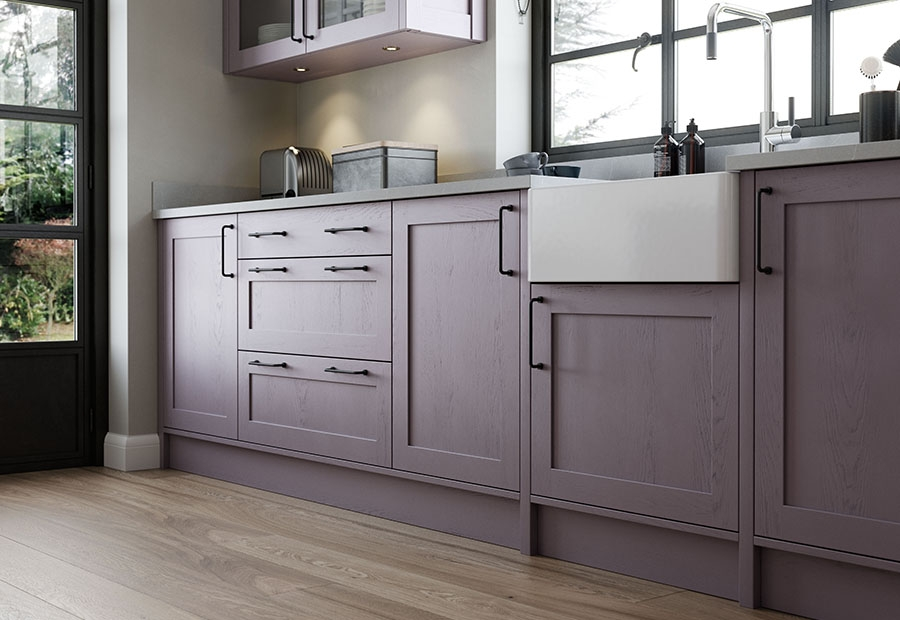 Aldana Painted Shaker Doors & Belfast Sink