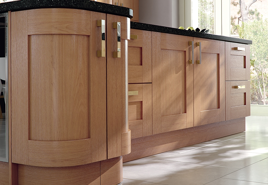 Modern Windsor Shaker Oak Style Kitchen