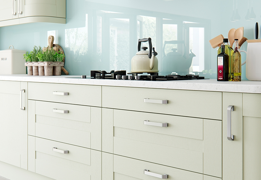 Modern Contemporary Windsor Shaker Drawers in Painted Mussel