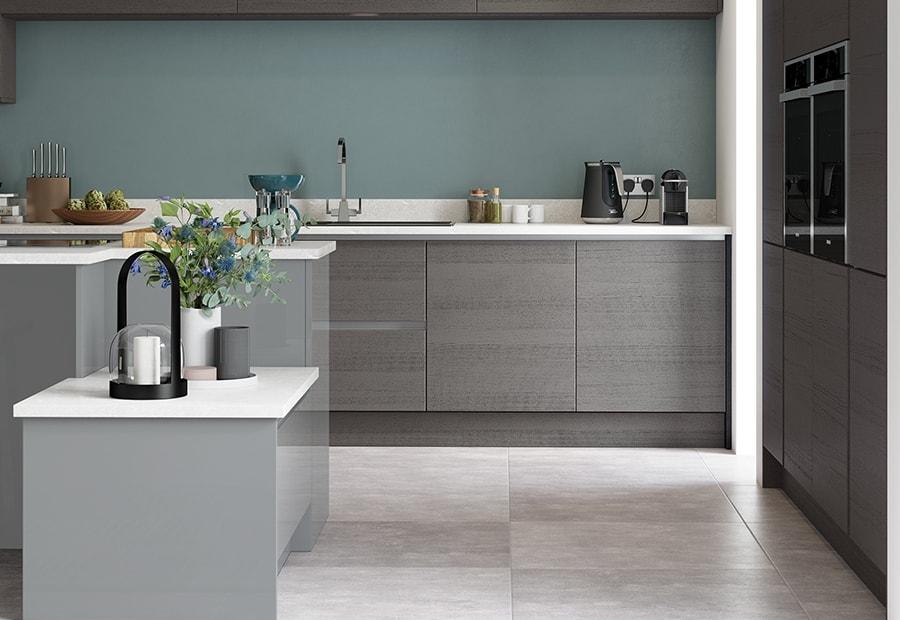 Tavola Anthracite Amp Zola Gloss Dust Grey Kitchen Stori