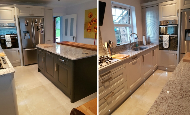 Jefferson Light Grey Kitchen for Doherty House, by Make Kitchens of Belfast