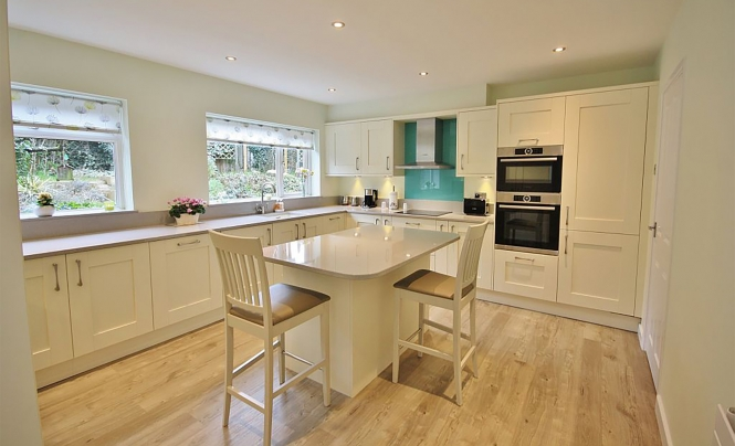 Windsor Shaker Ivory Kitchen By KitchenCraft of Essex