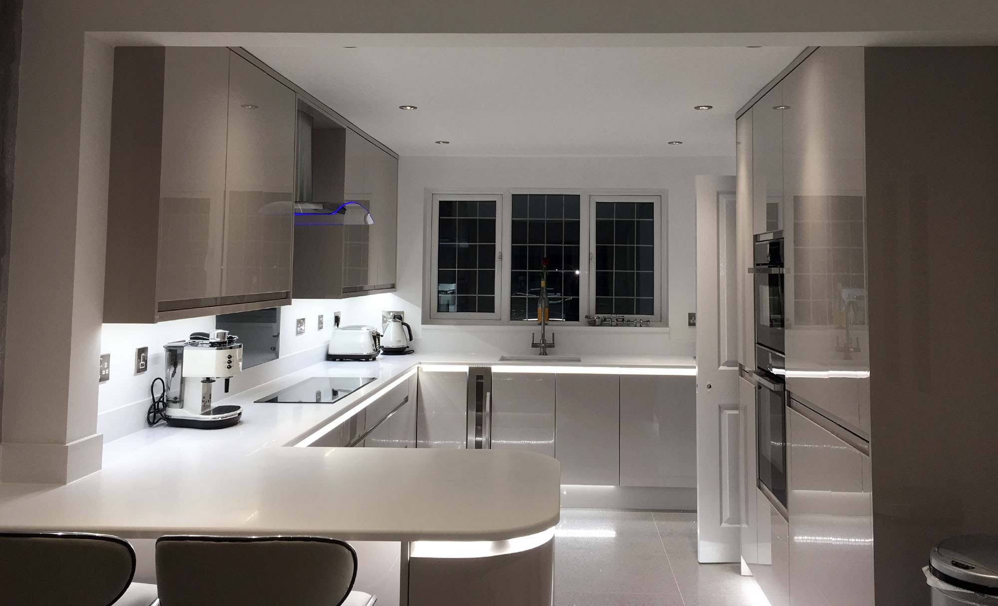 Strada Gloss Mr Mrs Mogliazzi Bristol Yate Kitchen Company