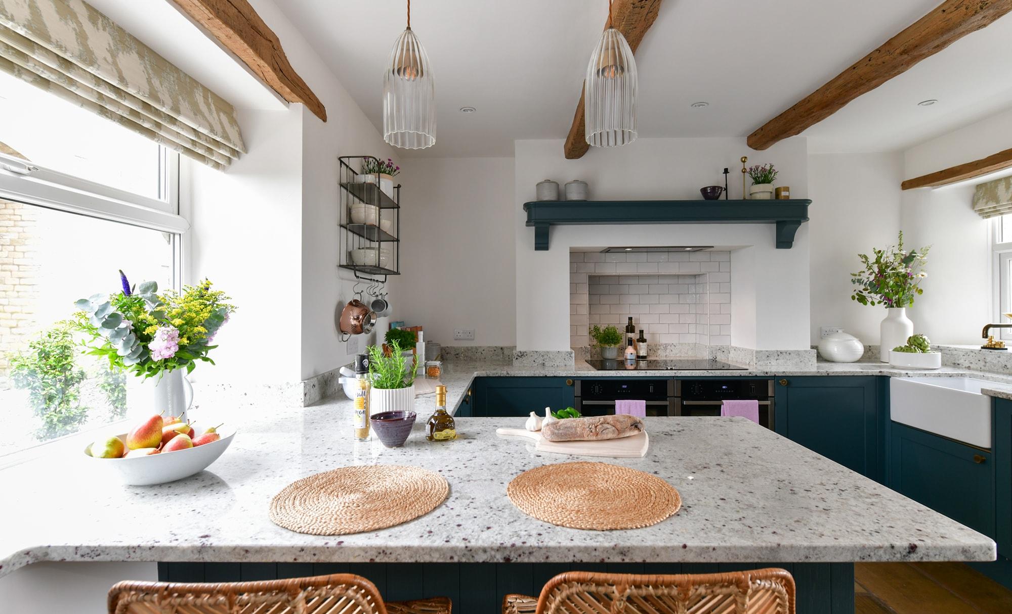 Richard & Richards Aldana Viridian Kitchen Dining