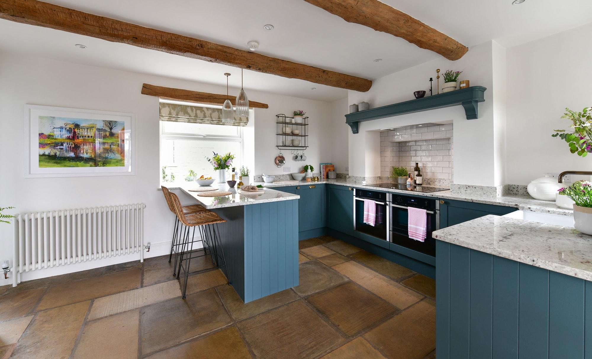 Richard & Richards Aldana Viridian Kitchen for Alan & Jane of Southcott