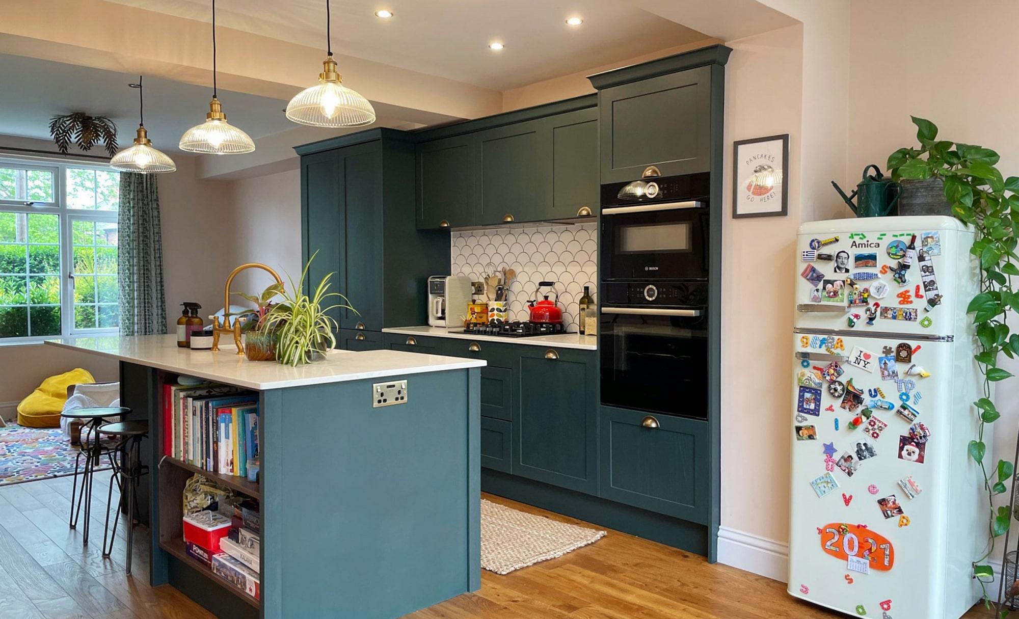 Aldana Deep Forest Kitchen by Ella Austin Kitchens Hero