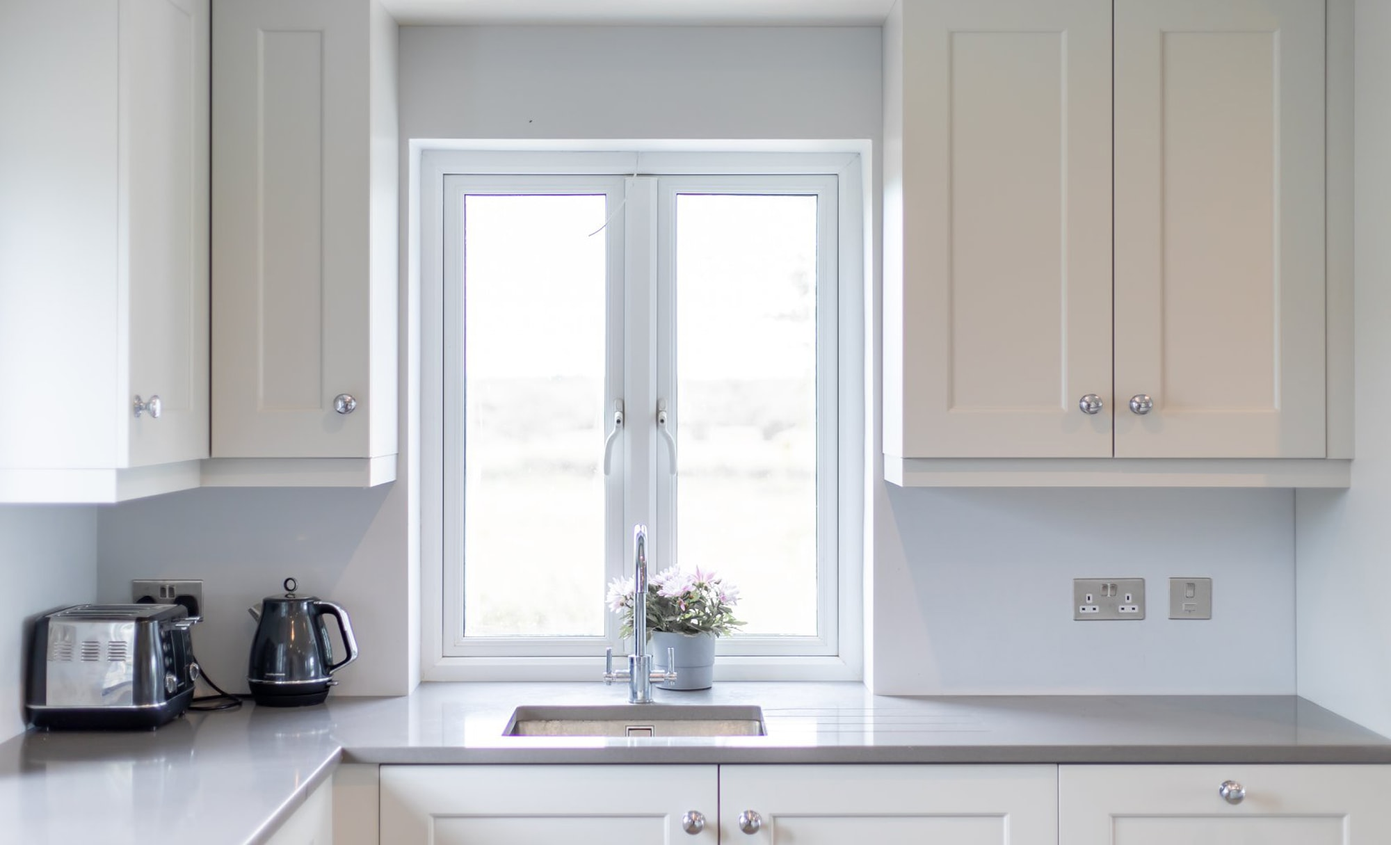 DWK Florence Light Grey Kitchen for a home in Co Offaly 5