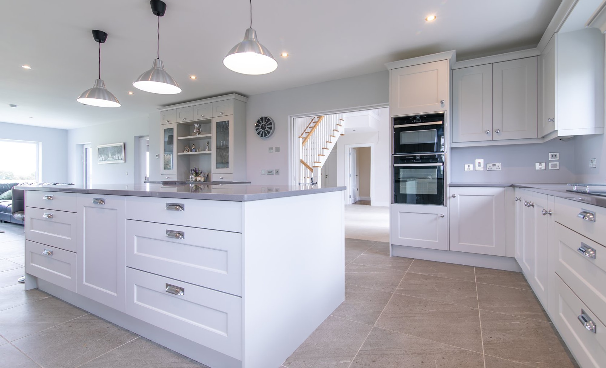 DWK Florence Light Grey Kitchen for a home in Co Offaly Main