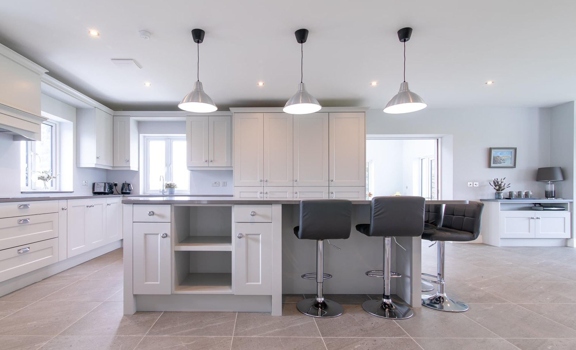 DWK Florence Light Grey Kitchen for a home in Co Offaly 2