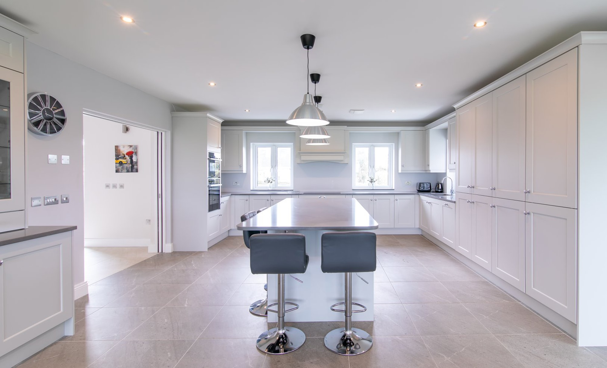 DWK Florence Light Grey Kitchen for a home in Co Offaly 3