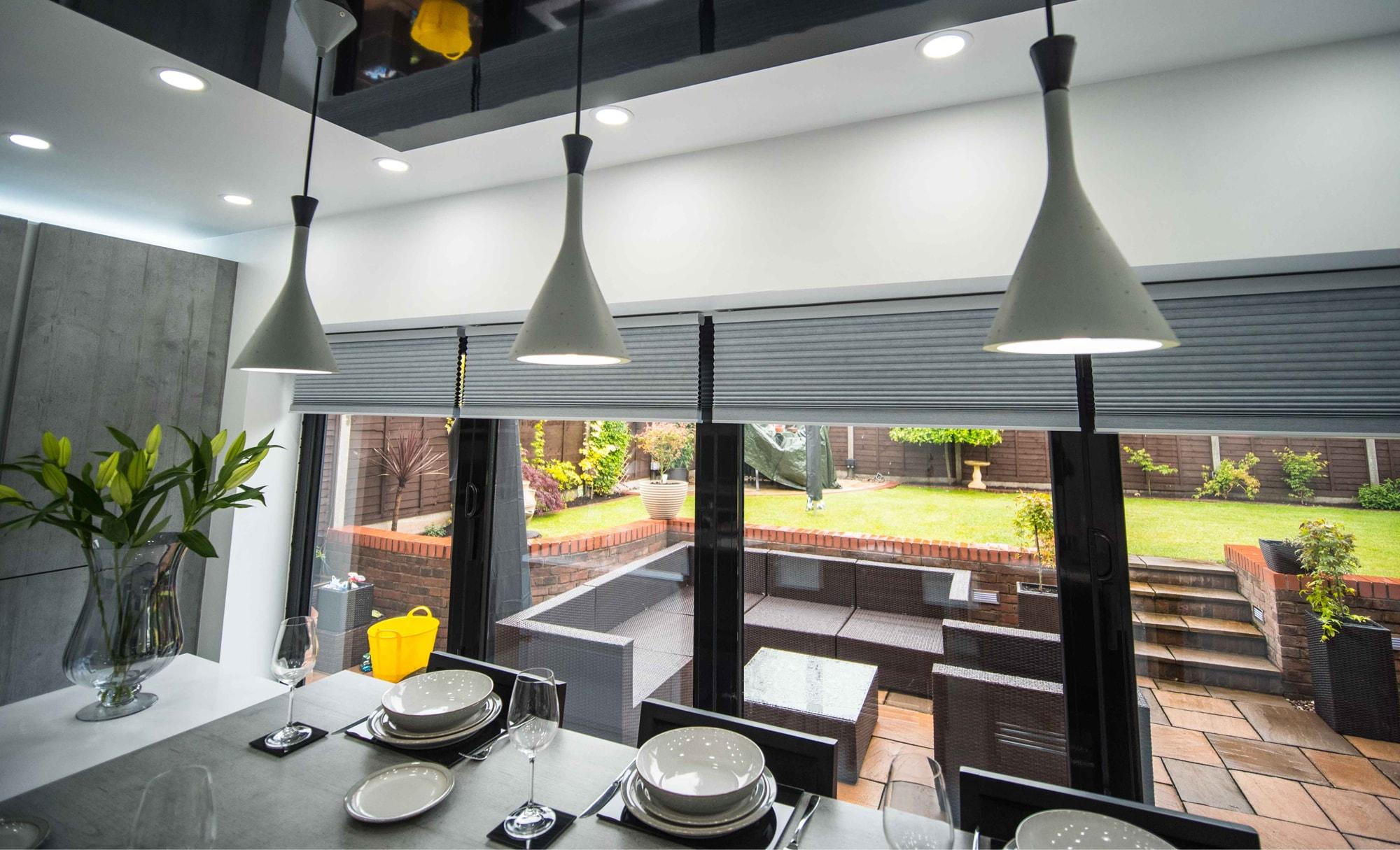 The Gallery Zola Gloss Dust Grey Kitchen Garden & Lighting