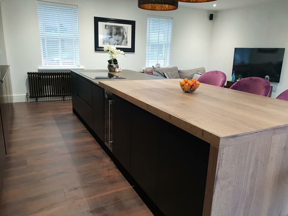 Heart of the Home Strada Matte Colour Matched Kitchen Island