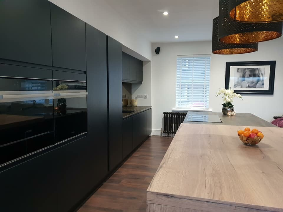 Heart of the Home Strada Matte Colour Matched Kitchen Tall Units
