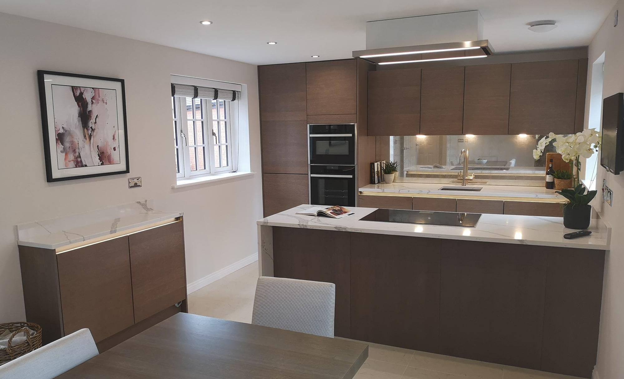 Kitchen Stori Tavola Kitchen for Mr & Mrs Horton by Saturn Interiors
