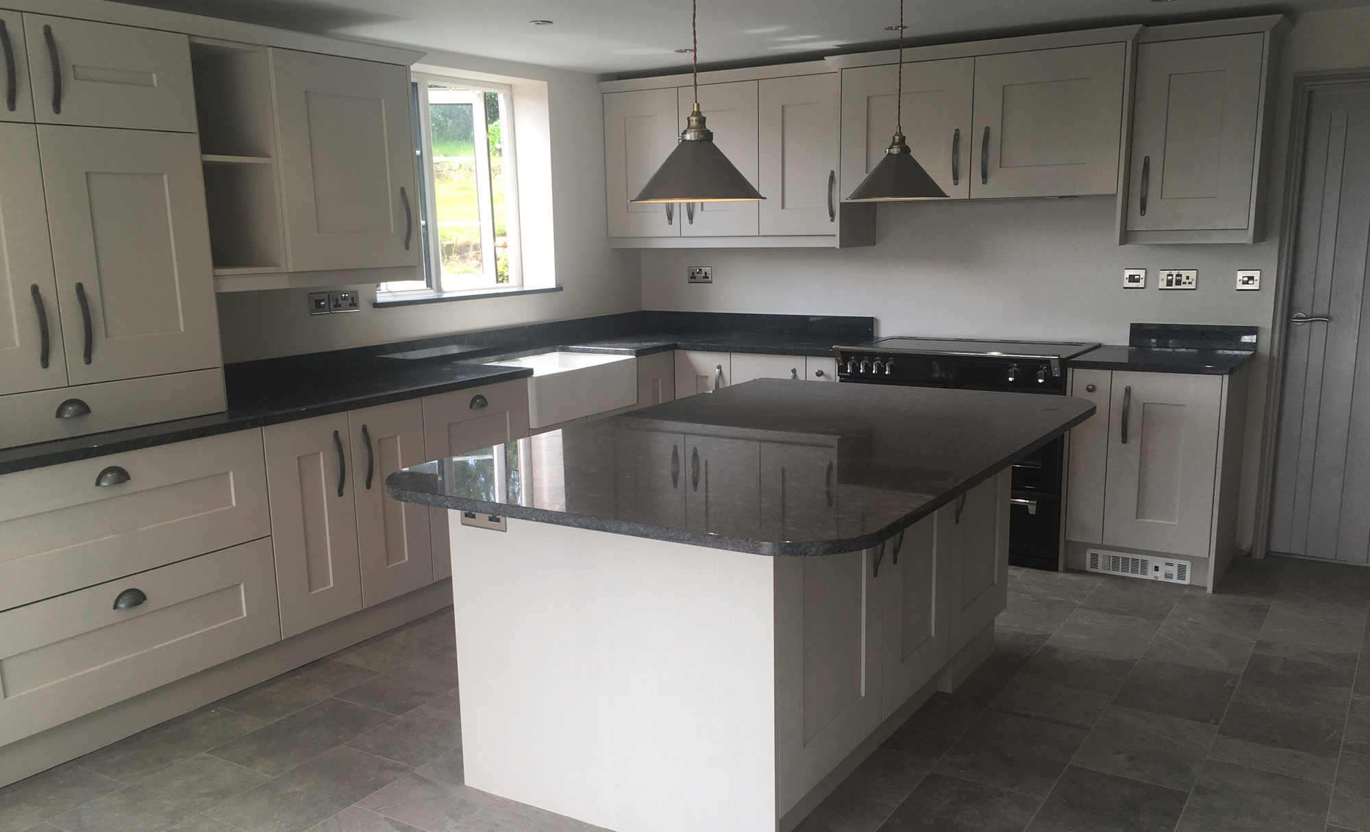 Kitchen Stori Clonmel Kitchen Island for a home in Nottinghamshire
