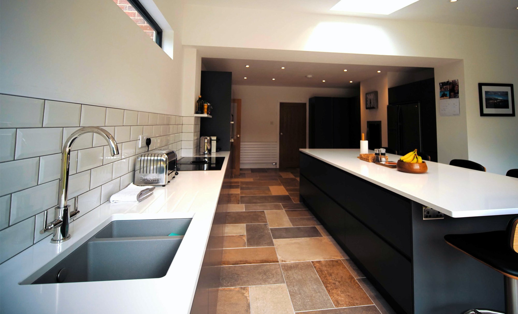 The Gallery Strada Matte Graphite Kitchen for Mr & Mrs Kiely of Stourbridge