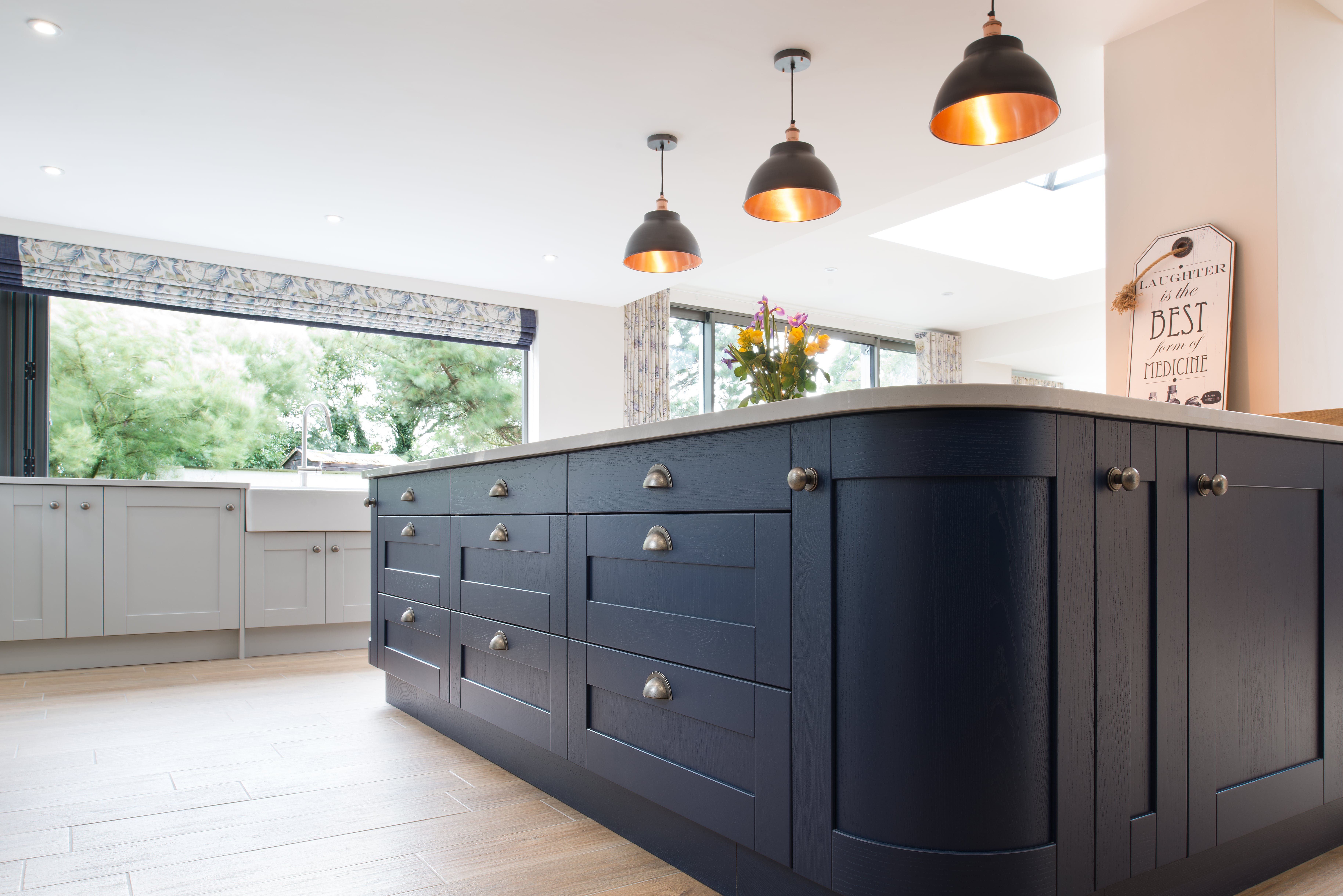 Madison Light Grey kitchen by Maelstrom for a home in Lancaster Colours