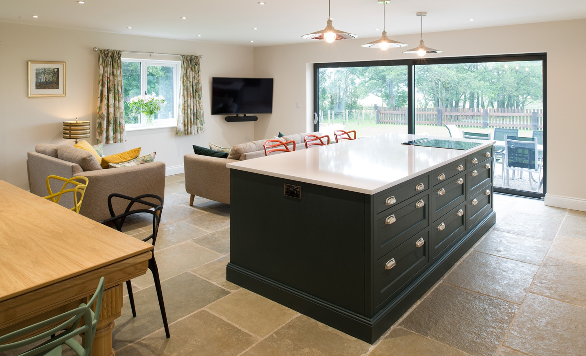 Maelstrom Belgravia Shell & Deep Forest Kitchen for a home in Lancaster