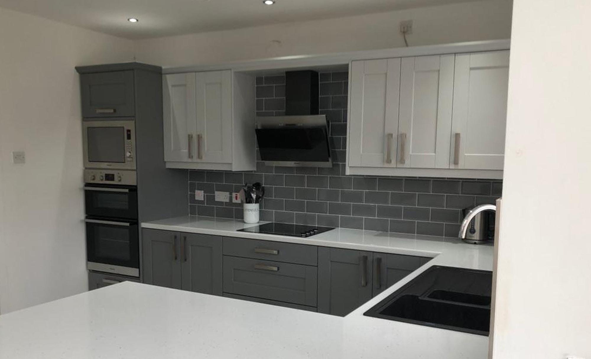 Make Kensington Light Grey & Dust Grey Kitchen Sink