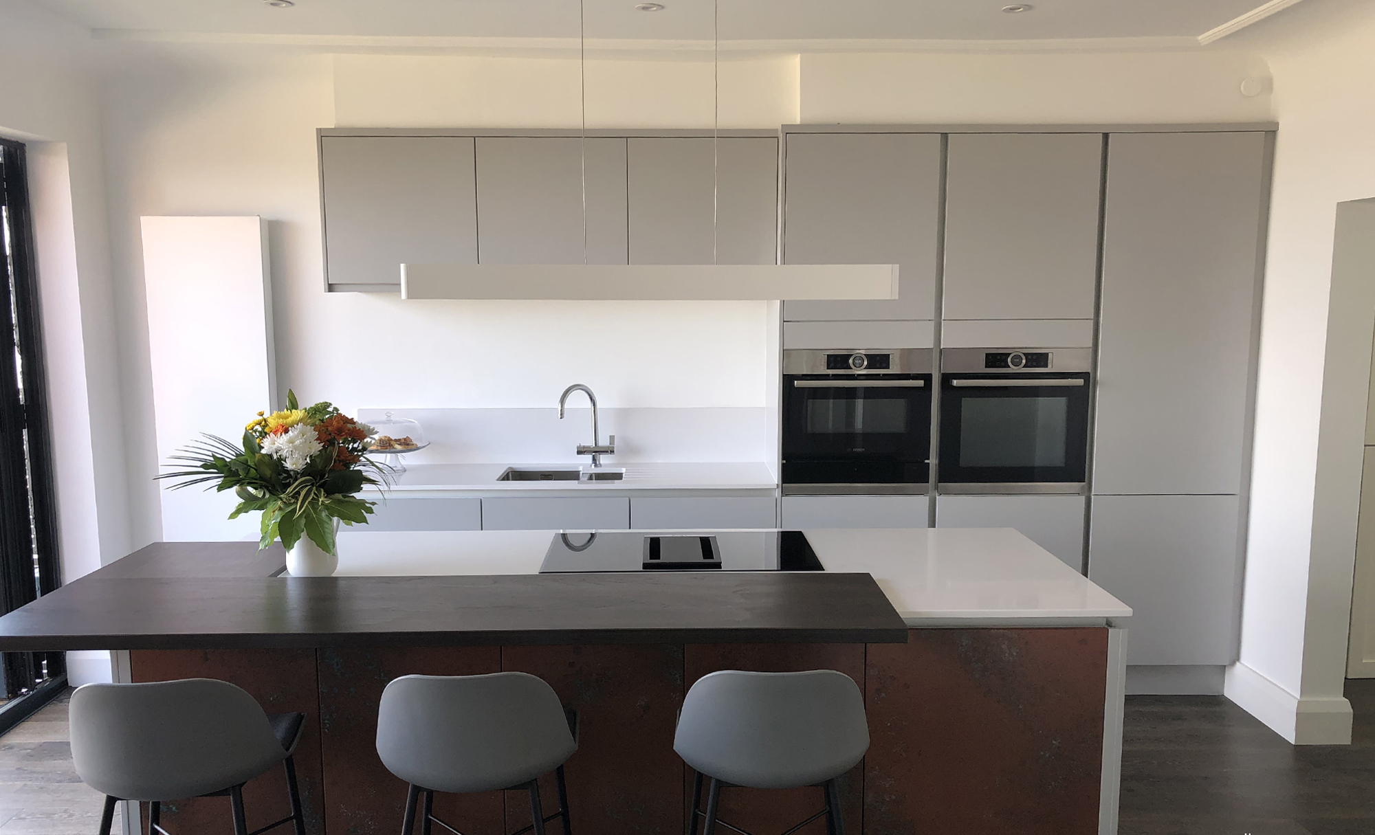 Zola Matte Kitchen by Mill Town Kitchens in Liverpool