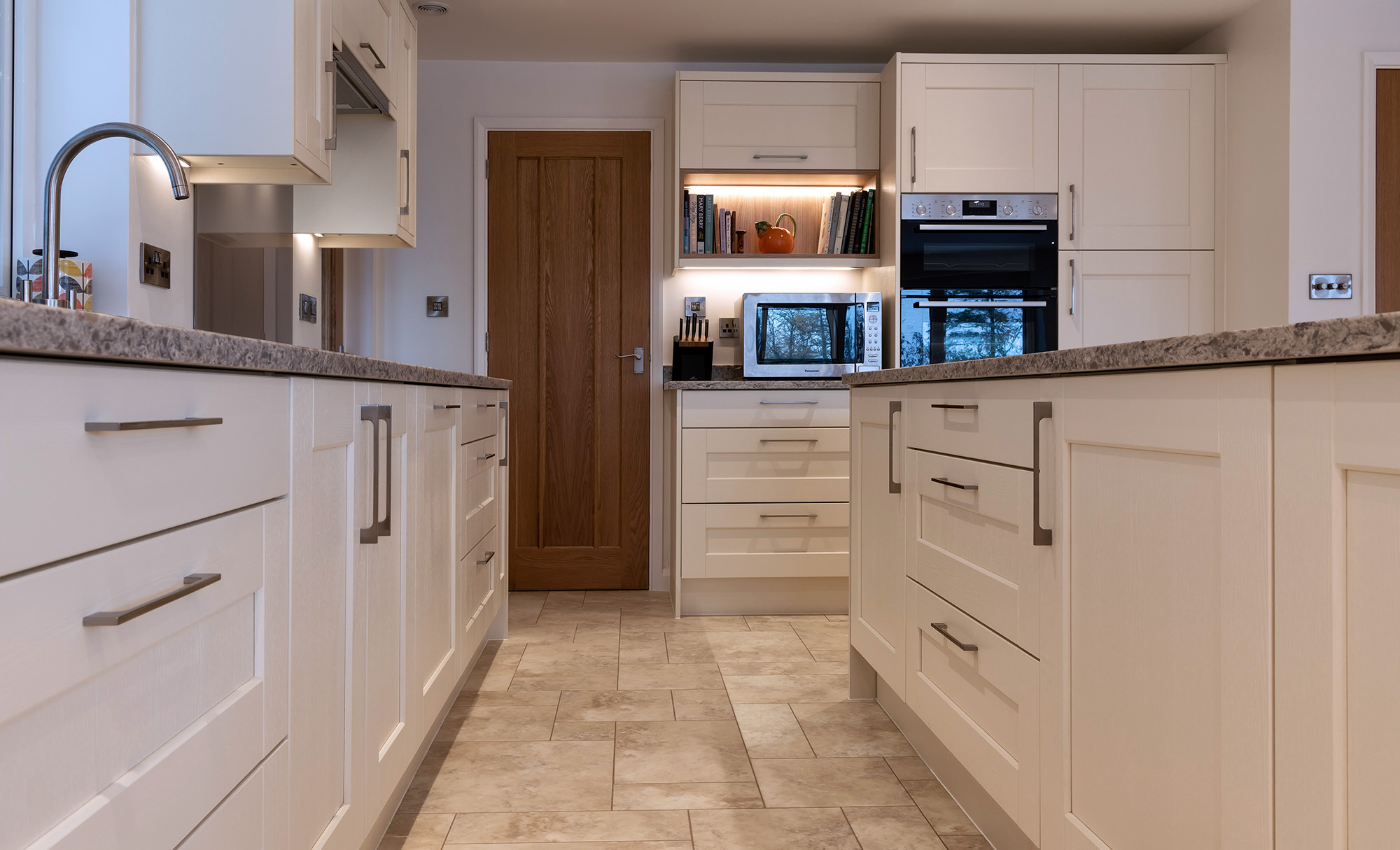 Kensington Painted Ivory Kitchen by Portishead Kitchens Utility