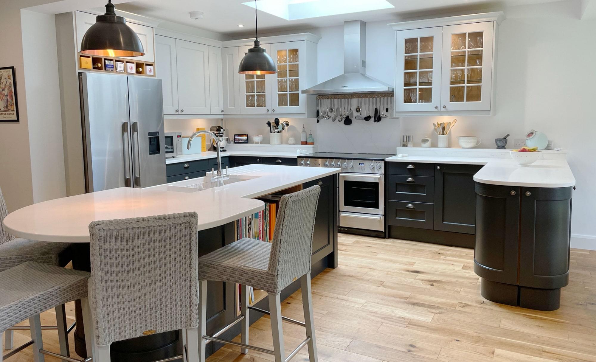 Kitchen Stori Wakefield Graphite and Light Grey Main