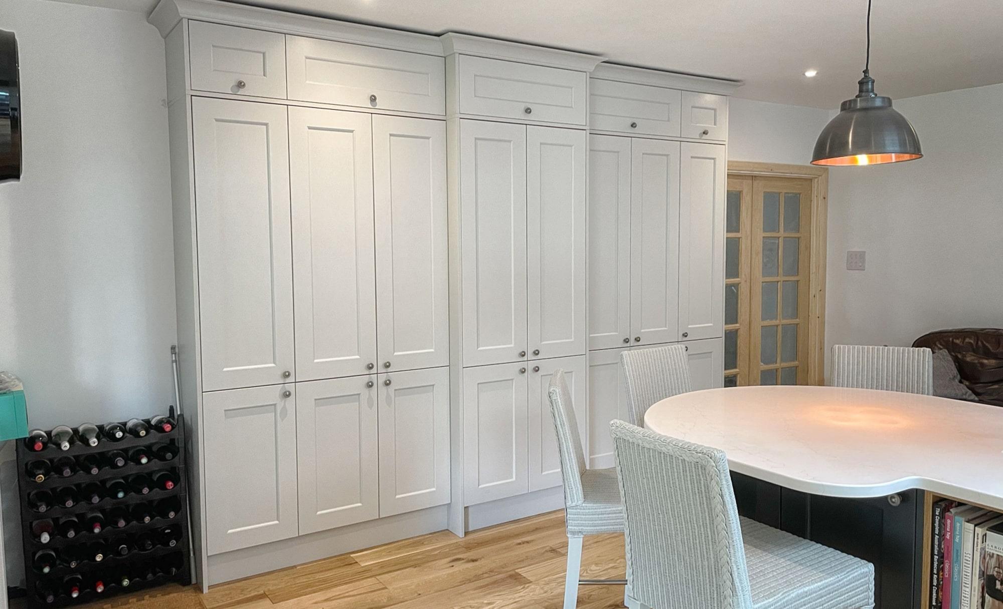 Kitchen Stori Wakefield Graphite and Light Grey Tall Doors