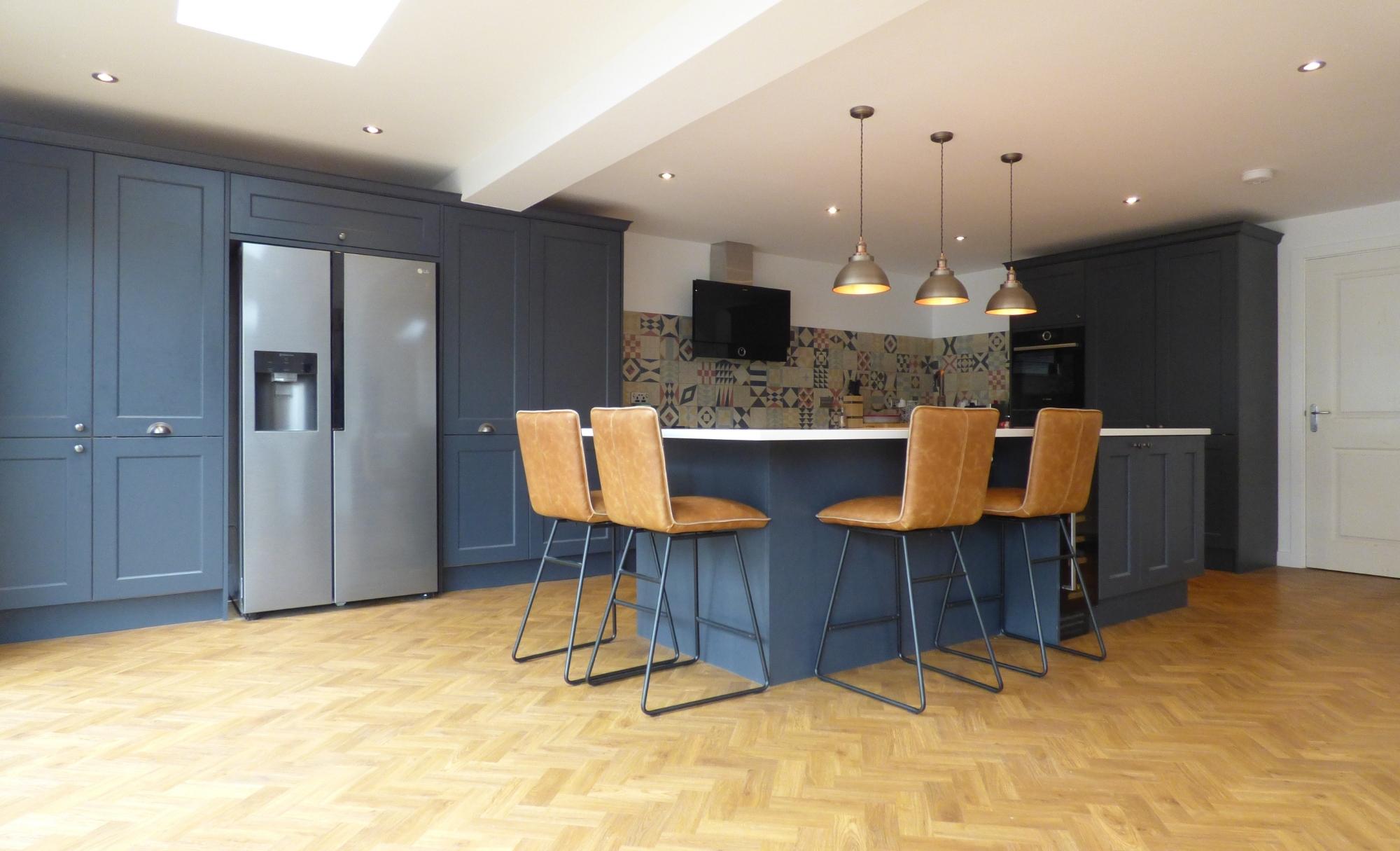 Kitchen Stori Wakefield Slate Blue Kitchen