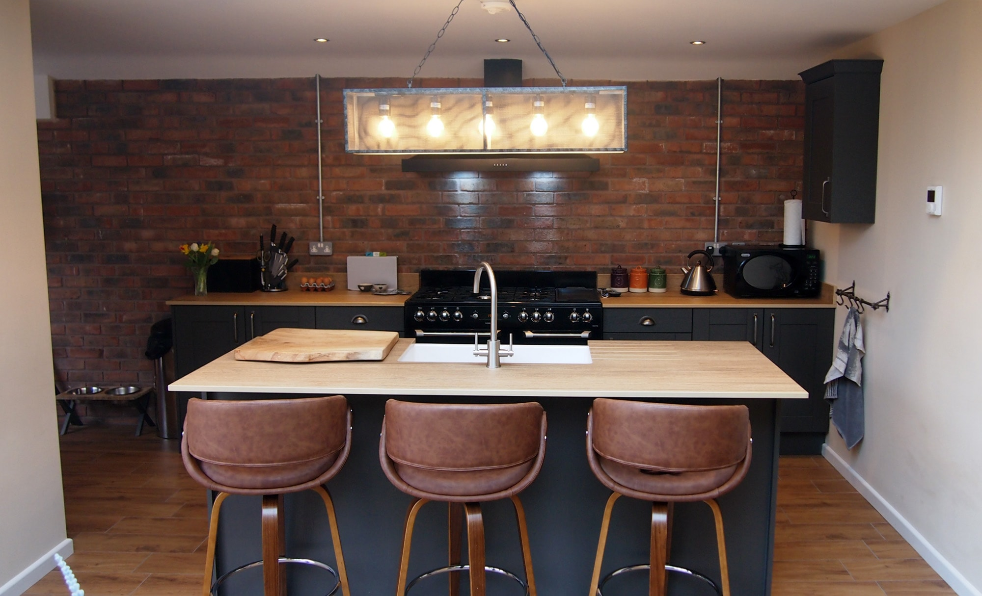 The Gallery Madison Graphite Kitchen for Mr & Mrs Wooten of Dudley