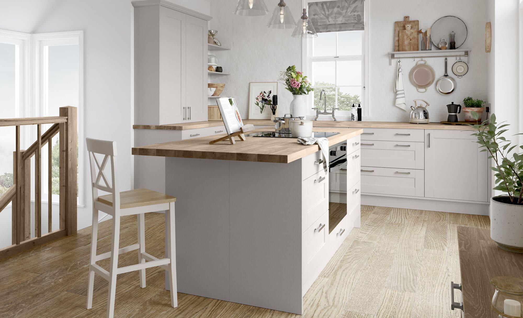 Classic Country Style Kensington Cashmere Kitchen