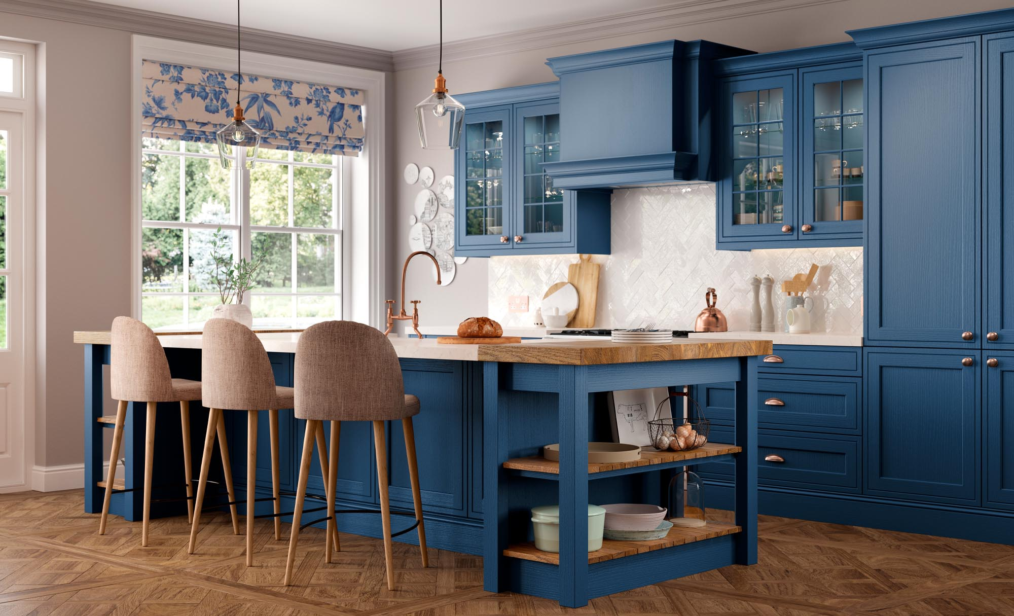 Wakefield Inframe Parisian Blue Main