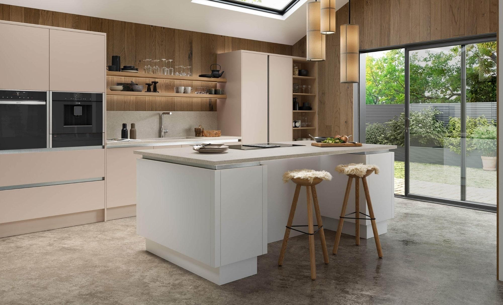 Kitchen Stori Zola Soft Matte Cashmere and White Hero