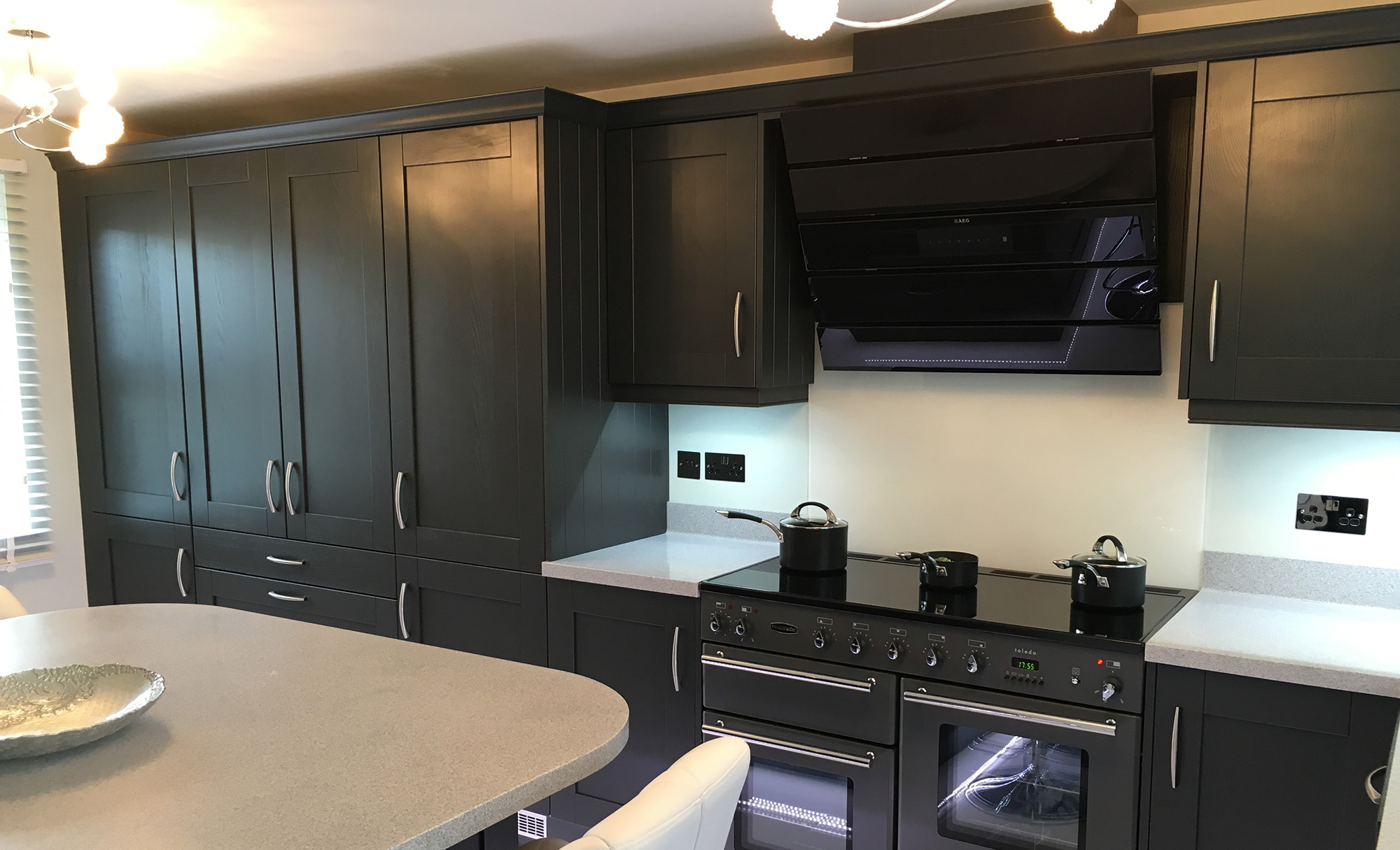 Contemporary Madison Painted Kitchen by Define Kitchens
