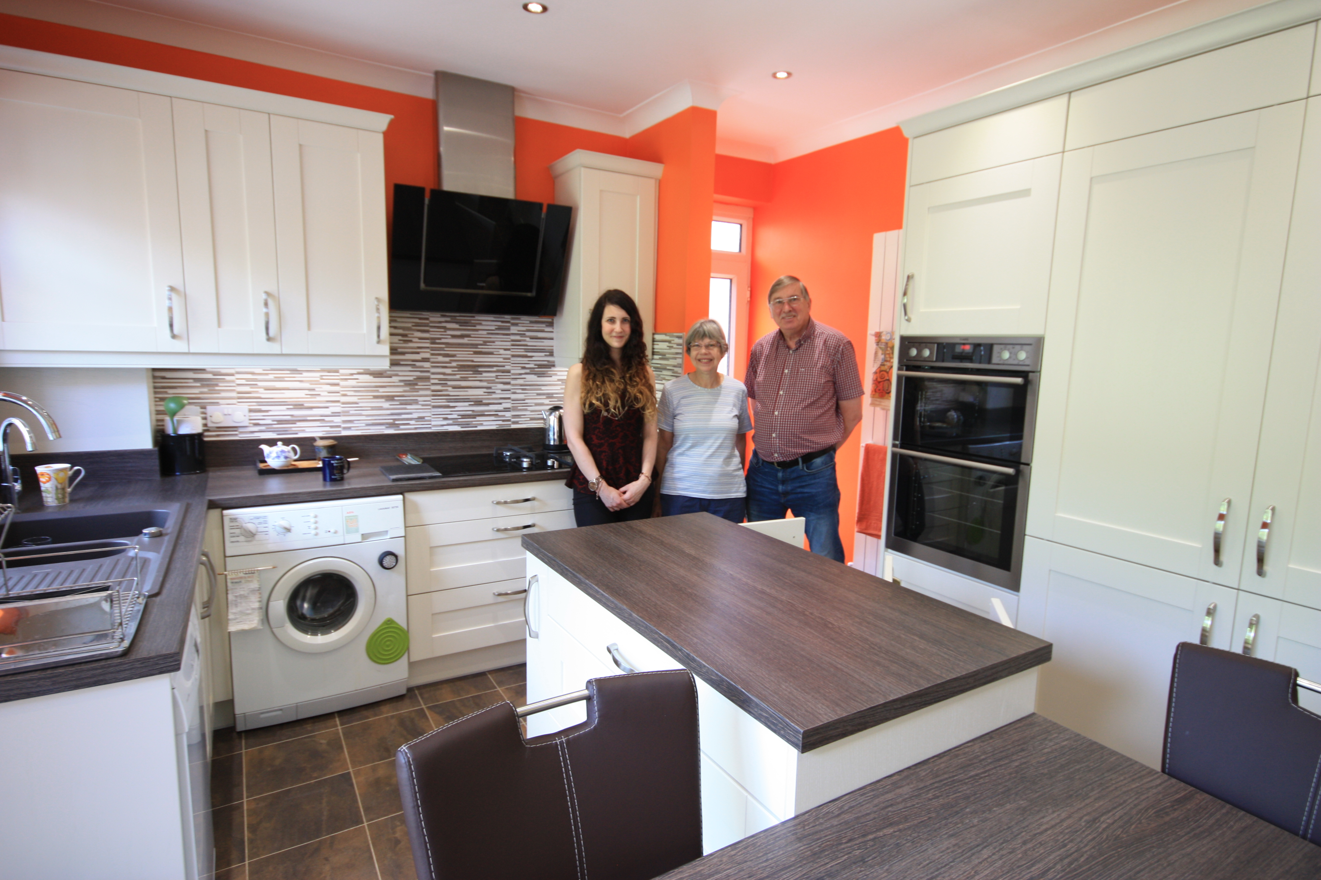 Madison Ivory Kitchen for Mr Grigg & Mrs Proctor of Cuxton, Kent