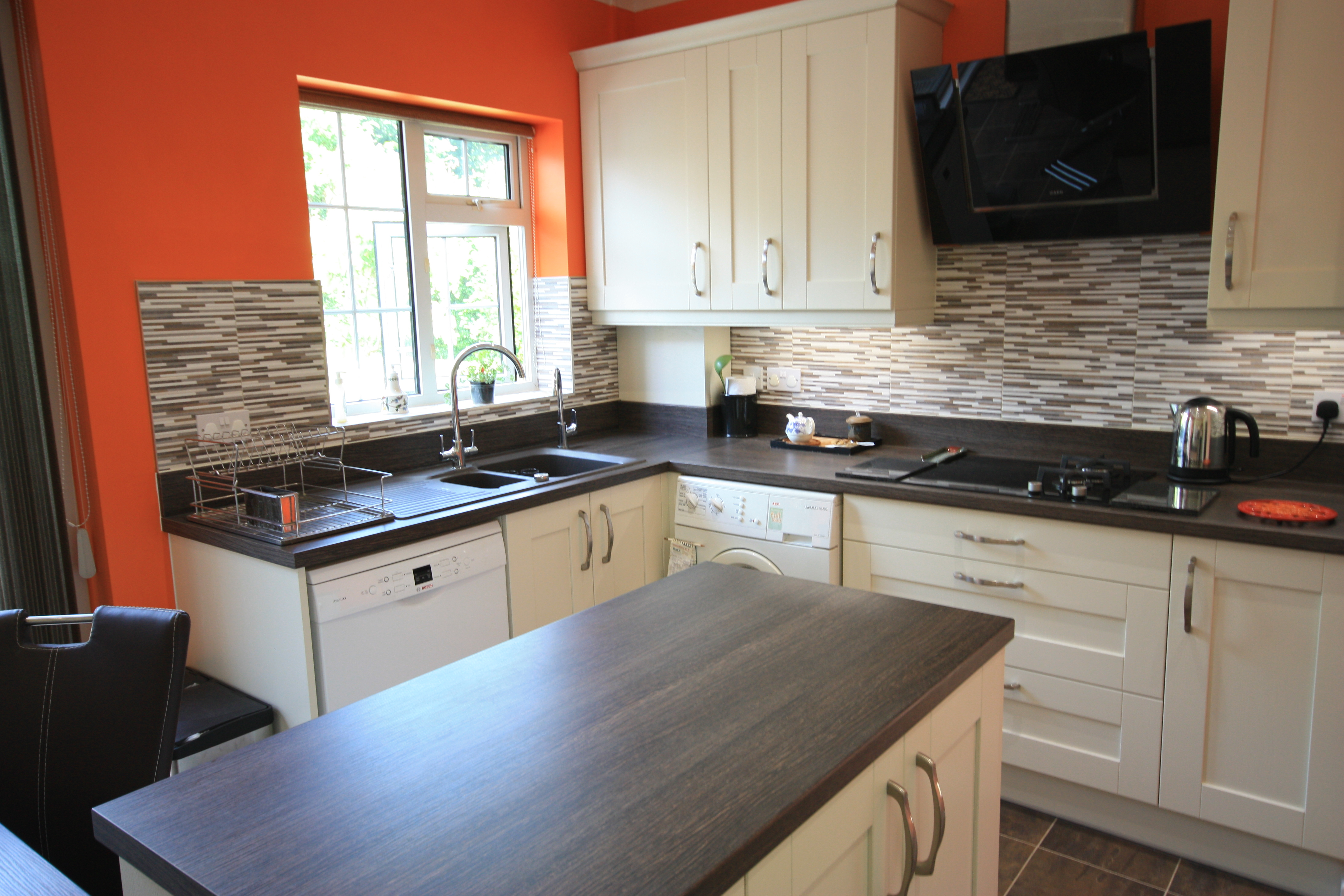 Madison Ivory Kitchen by Reams Kitchens